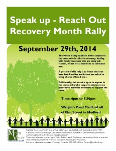 Speak Up Reach out Rally Sept 29 2014